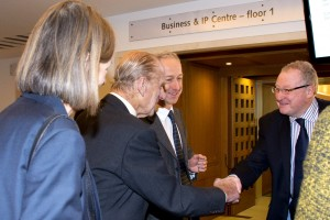 HRH The Duke of Edinburgh visits The British Library Nov 13, 2013