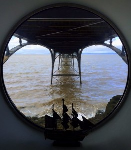Tiffin, View from Porthole in the Basement