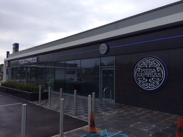 Fear Group Pizza Express Newport South Wales Fear Group